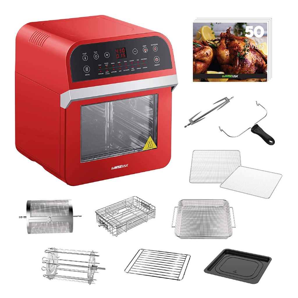 GoWISE USA 12.7-Quart 15-in-1 Electric Air Fryer Oven Amazon