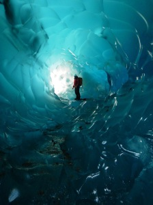 most romantic place to propose ice caves