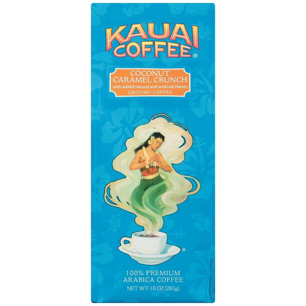 Kauai Coffee Coconut Caramel Crunch