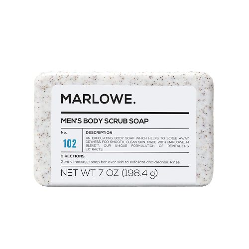 MARLOWE. No. 102 Men's Body Scrub Soap