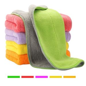 microfiber cloths for cleaning color