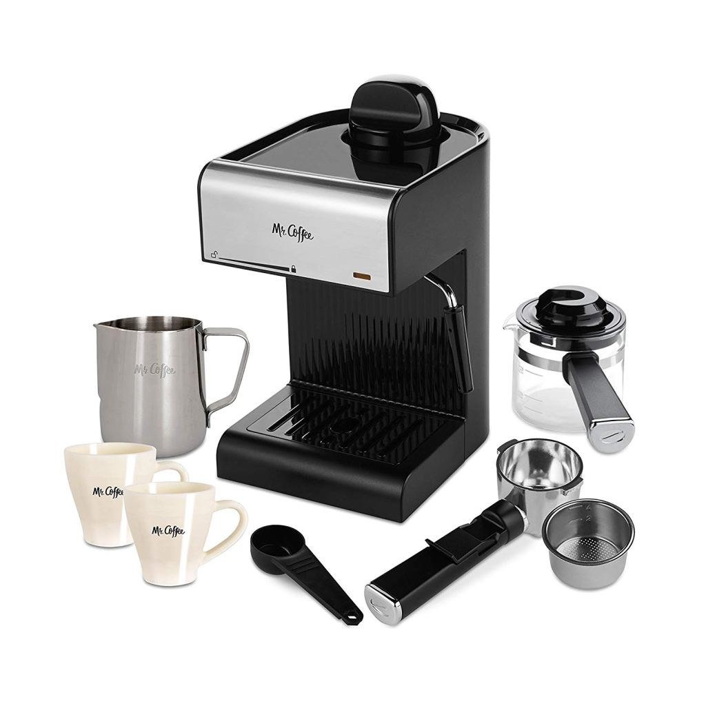 Mr.-Coffee-BVMC-ECM180-Steam-Espresso-Machine-Amazon