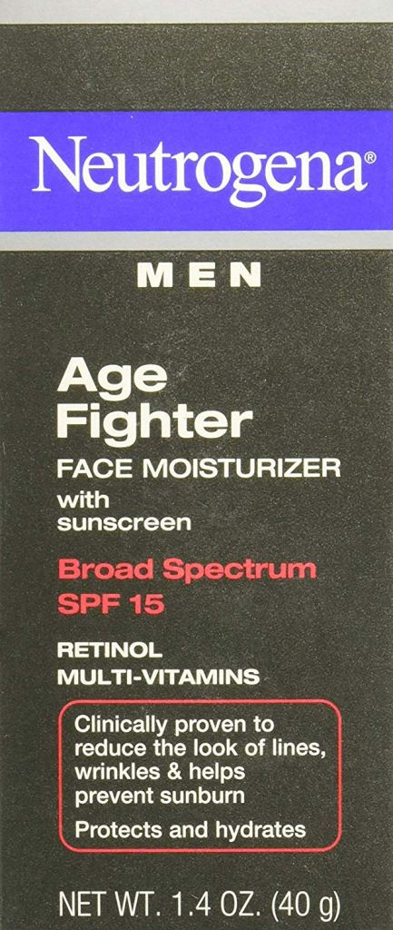 Neutrogena Age Fighting Anti-Wrinkle Face Moisturizer for Men