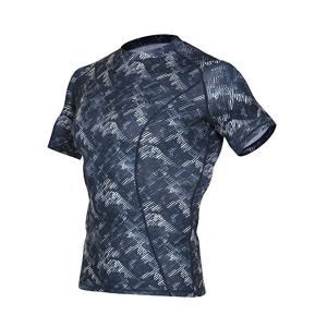 OUTOF Men's Short Sleeve T-Shirts Baselayer Cool Dry Compression Top