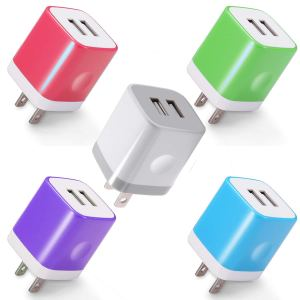 Power-7 USB Wall Charger 5-Pack