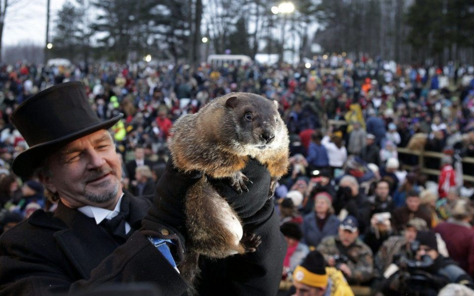 Groundhog Day Punxsutawney Phil