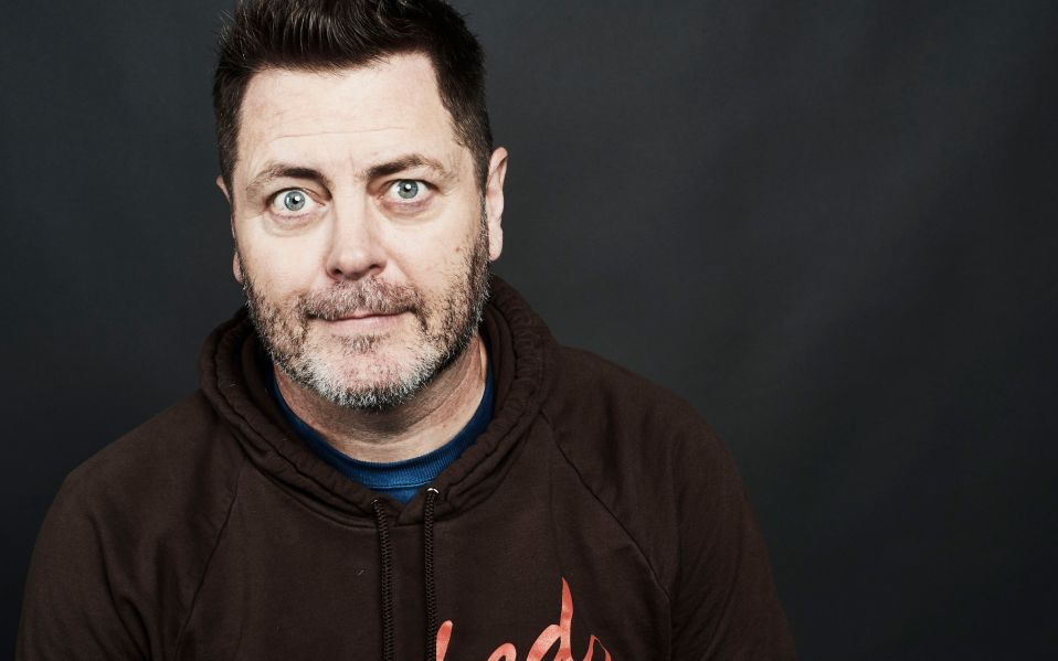 nick offerman audio book comedy