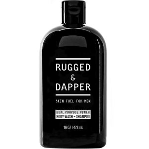 Rugged and Dapper Shampoo and Body Wash for Men
