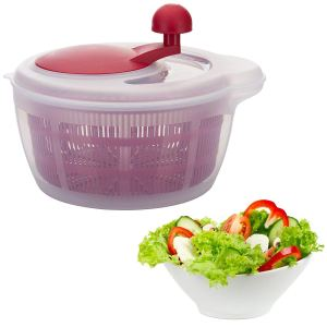 how to make salad spinner