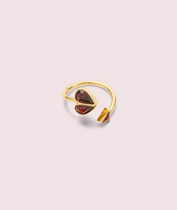 best non engagement rings kate spade heart