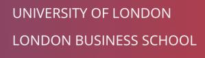 best online classes money london business school
