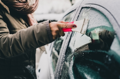 best hacks for clearing ice and snow off car this winter