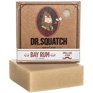 best bar soap men dr. squatch
