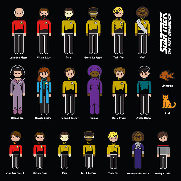 star trek the next generation decals
