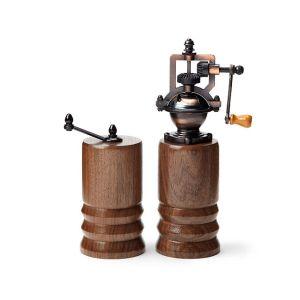 steampunk salt and pepper mills, salt and pepper shakers