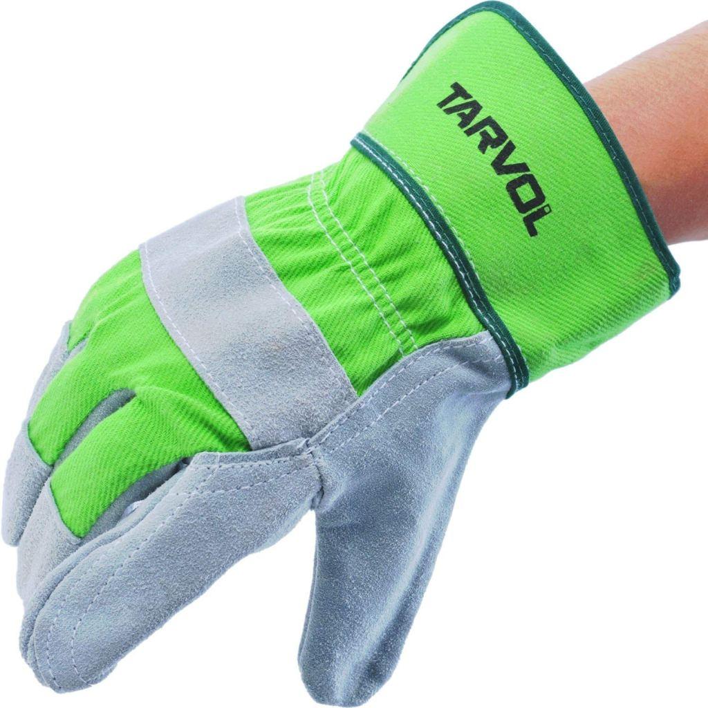 tarvol leather work gloves