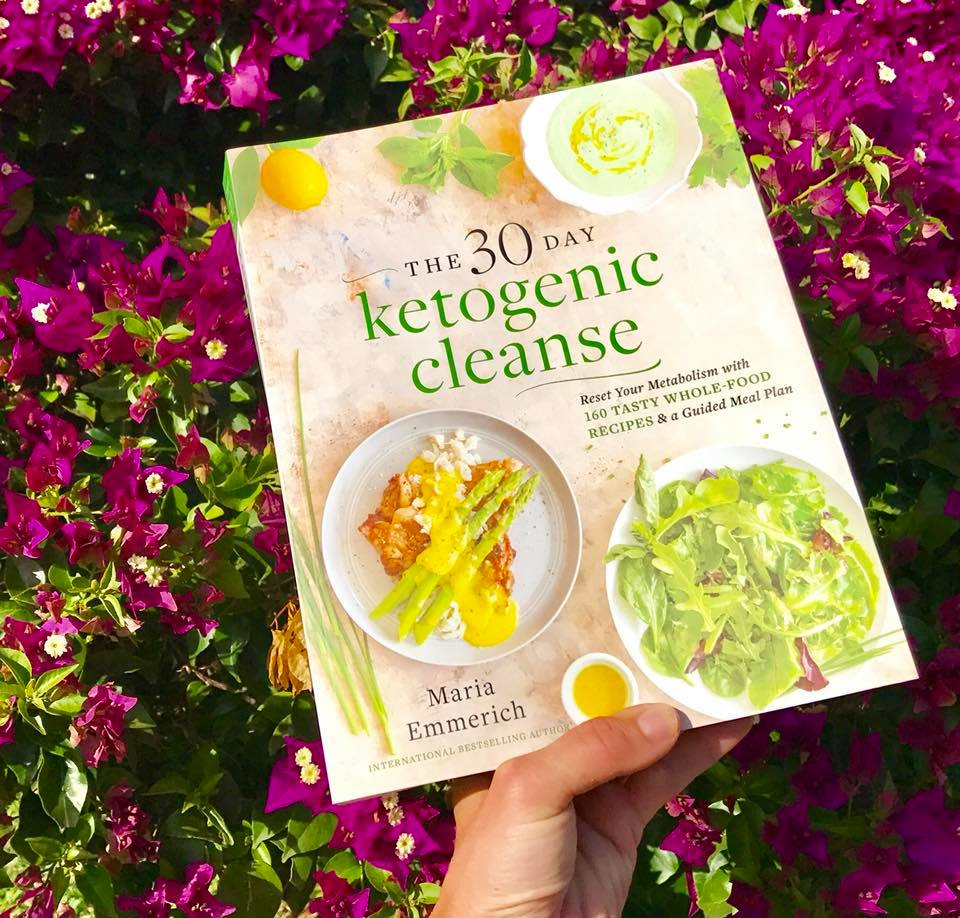 30 day ketogenic cleanse cookbook