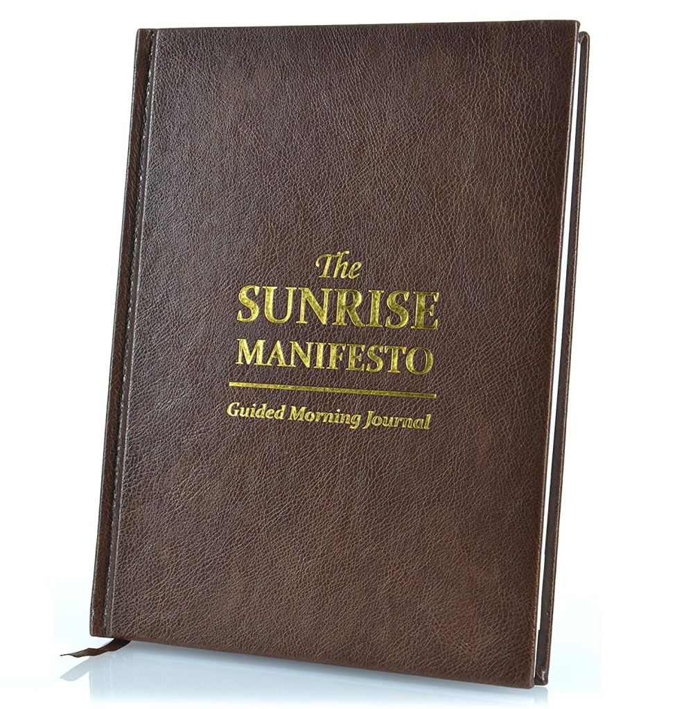 sunrise manifesto guided journal