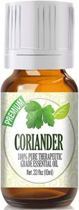 best essential oils UTI coriander