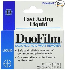 how to get rid of warts duofilm salicylic acid