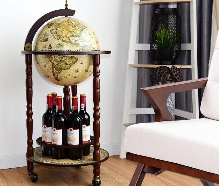 Globe Wine Bar Stand