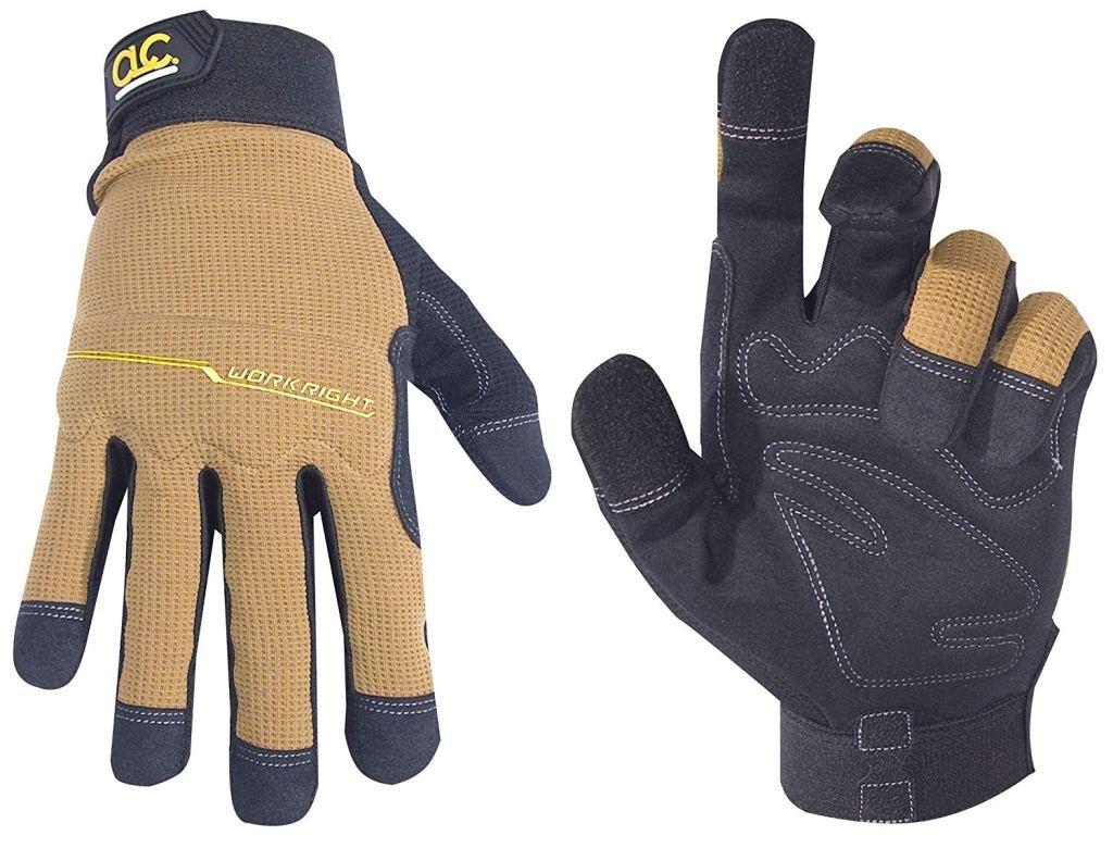 Custom Leathercraft Workright Flex Grip Work Gloves