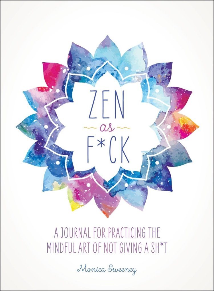 zen profanity guided journal