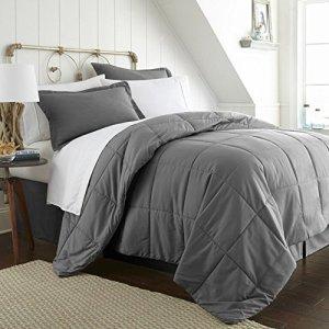 Grey Bed in a Bag Men's Queen
