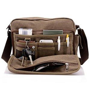 Messenger Bag Canvas Men's