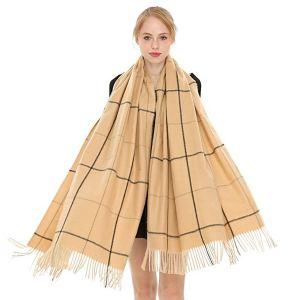 Cashmere Wool Scarf Longwu