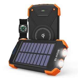 Solar Power Bank Device Charger