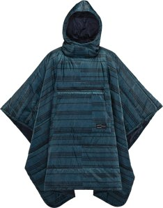 men's poncho outdoor insulated