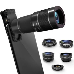 mokcao 6-in-1 Cell Phone Camera Lens