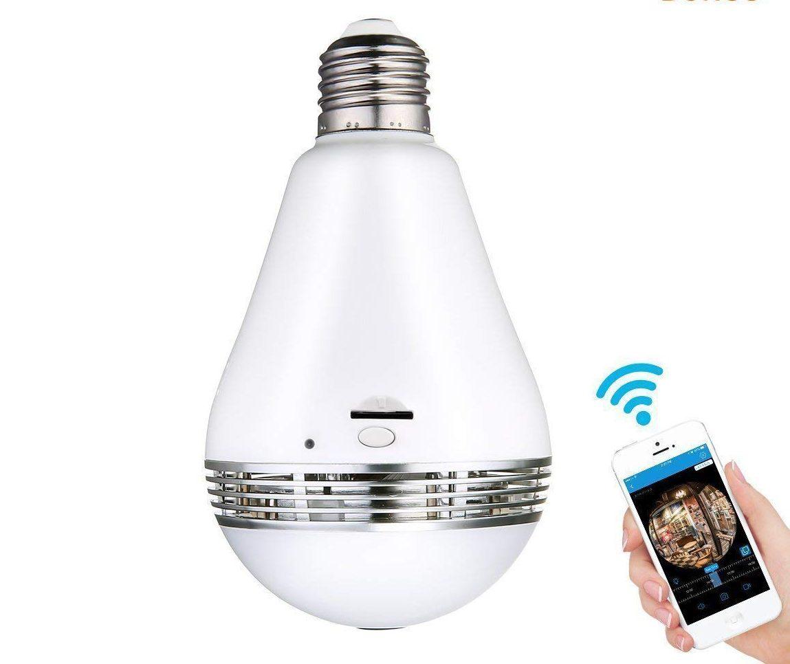 Meco Smart Light Bulb Camera