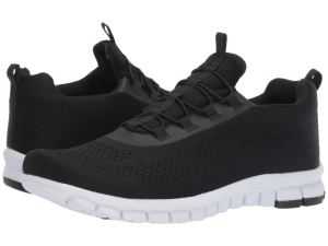 Black Knit Sneakers Men's