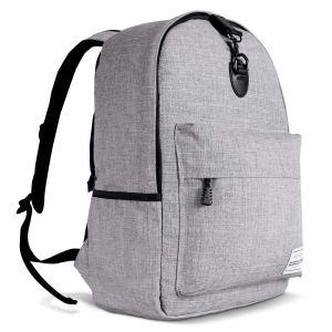 Grey Backpack Travel Lock