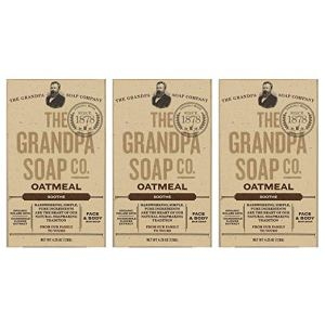 Oatmeal Bar Soap The Grandpa Soap Co,.