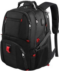 Black Backpack Large Men's Travel
