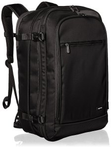 Black Backpack Carry On