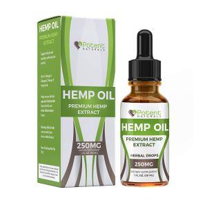 Potent Naturals hemp oil