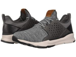 Grey Knit Sneakers Running
