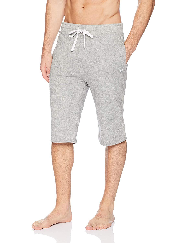 YogaAddict men's grey yoga shorts