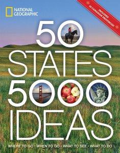 50 States 500 Ideas Book