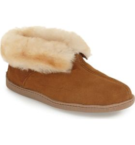 Minnetonka Shearling Slippers