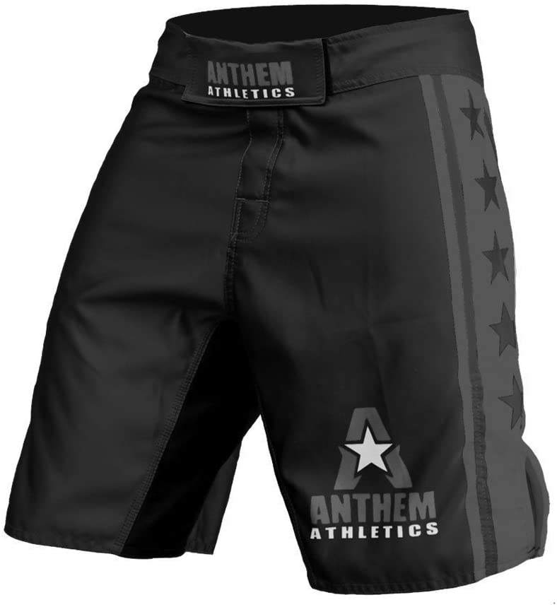 Black Anthem Athletics Resilience MMA Shorts, best men's workout shorts