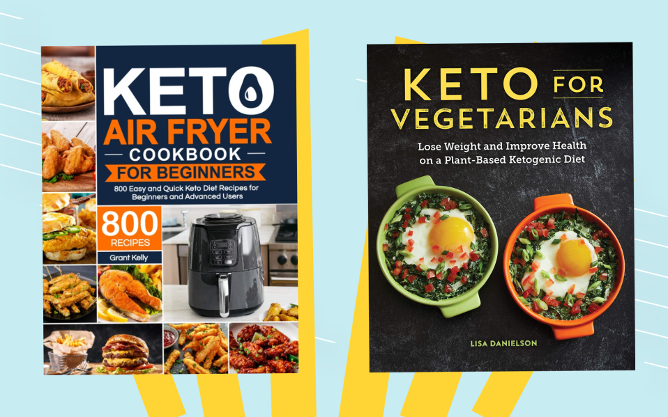 Keto Vegetarian Diet cookbooks