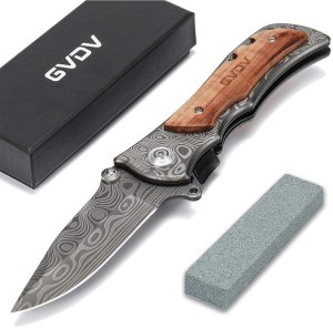 GVDV camping knife, best camping knives