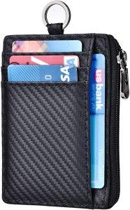 kinzd slim carbon fiber wallet
