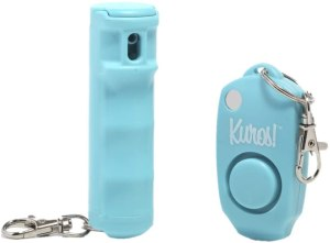 Kuros! By Mace Pepper Spray and Personal Alarm Combo