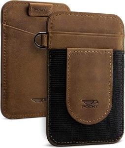 pockt leather wallet